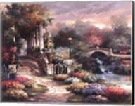 Classic Garden Retreat Fine-Art Print