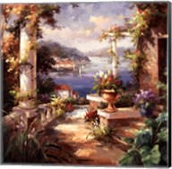 Pompeii Terrace Fine-Art Print