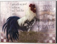 Checkerboard Rooster Fine-Art Print