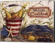 Blue Crabfest Fine-Art Print
