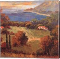 Tuscan Hill View Fine-Art Print