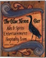 The Blue Heron Bar Fine-Art Print