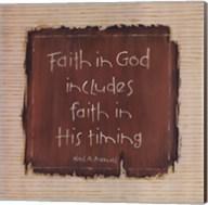 Faith In God Fine-Art Print