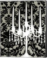 Patterned Candelabra I Fine-Art Print