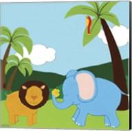 Jungle Jamboree IV Fine-Art Print