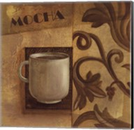 Deco Coffee II Mocha Fine-Art Print