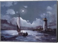 Moonlit Sail Fine-Art Print