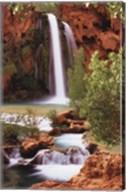 Hidden Falls Wall Poster