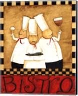 3 Chefs Wine Bistro 1 Fine-Art Print