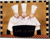 3 Chefs Tasting Fine-Art Print