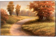 Autumn Lane II Fine-Art Print