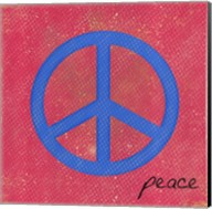 Blue Peace Fine-Art Print