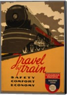 Canadian Pacific - Travel by Train Fine-Art Print
