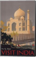 Taj Mahal - Visit India Fine-Art Print