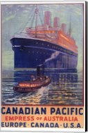 Canadian Pacific - Empress of Australia Fine-Art Print