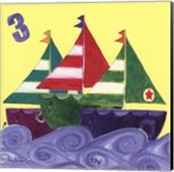 Three Ships Fine-Art Print