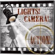 Lights! Camera! Action! Fine-Art Print