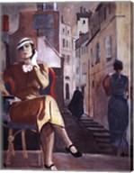Paris-In a Cafe Fine-Art Print