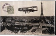 Aeroplane de Paris Fine-Art Print