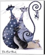 The Cat Pack Catitudes Fine-Art Print
