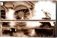 Steam (Sepia) Fine-Art Print