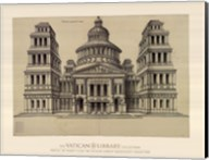 Portail de Temple, (The Vatican Collection) Fine-Art Print