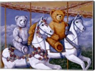 Bears Riding a Carousel Fine-Art Print