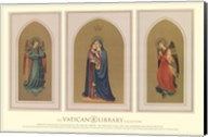 Madonna and Child Triptych, (The Vatican Collection) Fine-Art Print