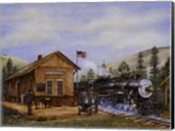 Pine Valley Station Fine-Art Print