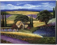 Vineyard Home Fine-Art Print