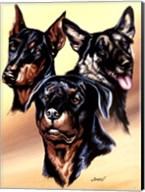 Dog Collage I Fine-Art Print