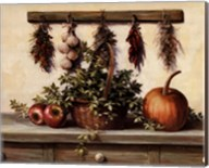 Hanging Dried Herbs Fine-Art Print