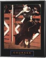 Courage - Bull Rider Fine-Art Print