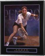 Power - Tennis Player Fine-Art Print