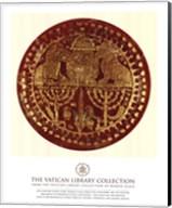 Gold Lions, (The Vatican Collection) Fine-Art Print