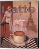 Latte - Paris Fine-Art Print