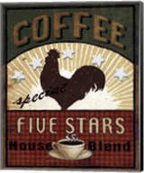 Coffee Blend Label III Fine-Art Print