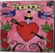 Love - Tattoo Fine-Art Print