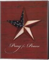 Pray For Peace - Star Fine-Art Print