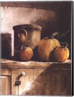 Crock and Pumpkins Fine-Art Print