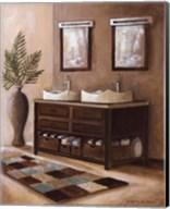 Bath Still Life II - mini Fine-Art Print