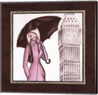 London in Pink Fine-Art Print
