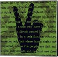 Peace Sign II Fine-Art Print