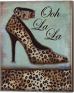 Leopard Shoe - mini Fine-Art Print