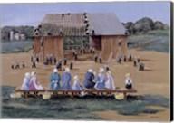 Barn Raising Fine-Art Print