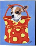 Chihuahua Dots Fine-Art Print