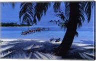 Cerulean Paradise Fine-Art Print