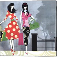 Girls Gone Shopping Fine-Art Print