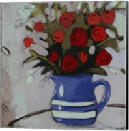 Blue Pitcher Bouquet Fine-Art Print