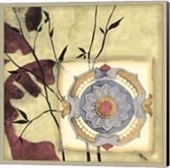 Printed Moonlit Rosette I Fine-Art Print